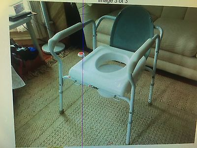 Carex Uplift Commode Toilet Assist