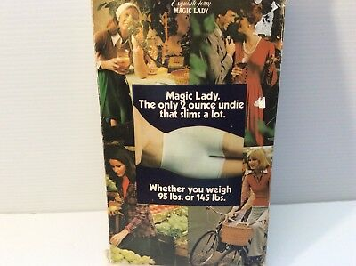 Magic Lady Regular Length Slimming Undie  Detachable Garters New In Box L Girdle