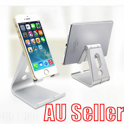 Universal Folding ABS Tablet Mount Holder Stand For iPad iPhone Samsung NW