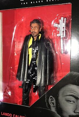 Star Wars Black Series 6-inch Wave 16 #65 Lando Calrissian Solo Movie In Stock