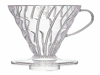Hario V60 Coffee dripper 02 Clear VD-02T for 1 to 4 cups Japan Import