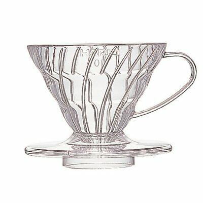 Hario V60 Coffee dripper 01 Clear VD-01T for 1 to 2 cups Japan Import