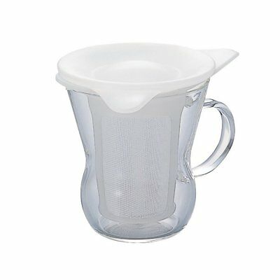 Hario One cup tea maker 200 ml White OTM-1NW Japan Import F/S