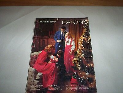 "Eaton's Christmas 1975 Store Catalog ( Eatons Store Catalogue) 8"" by 11"""