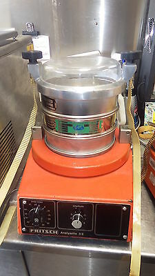 Fritsch Analysette 3E shaker for 200mm Endecotts Test Sieve UNIT ONLY NO SIEVES