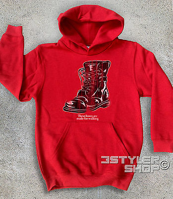 Sweatshirt Baby Boots Combat Nancy Sinatra These Are Made for Walkin' Hazzard