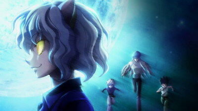 "014 Hunter X Hunter - Neferpitou Gon Killua Fight Anime 24""x14"" Poster"