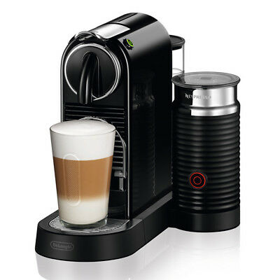 NEW DeLonghi Nespresso Citiz & Milk Black Coffee Machine