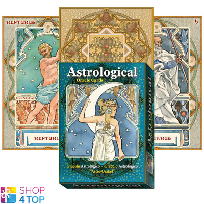 Astrological Oracle Cards Deck Esoteric Telling Lo Scarabeo New