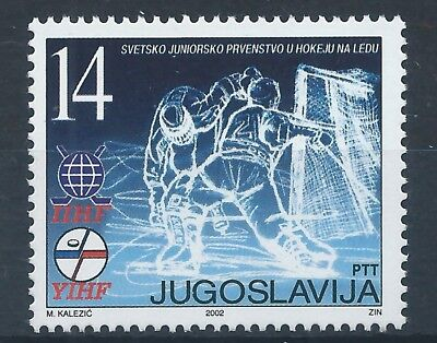 YUGOSLAVIA 2002 SG3327 Junior World Ice Hockey Championship, Czech Repu Mint MNH