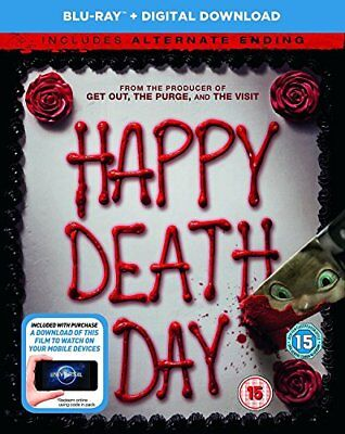 Happy Death Day (Blu-Ray + digital download) [2017] [DVD][Region 2]