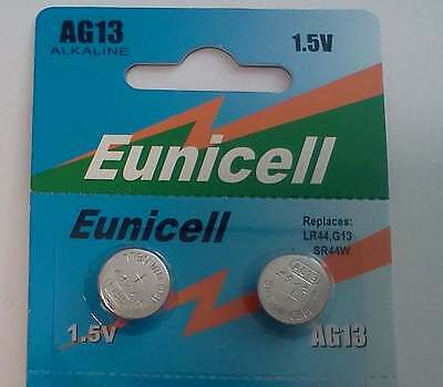 Batteries - 1.5V - LR44/AG13/357 Button cell Alkaline 2 packs of 10. Oz Seller