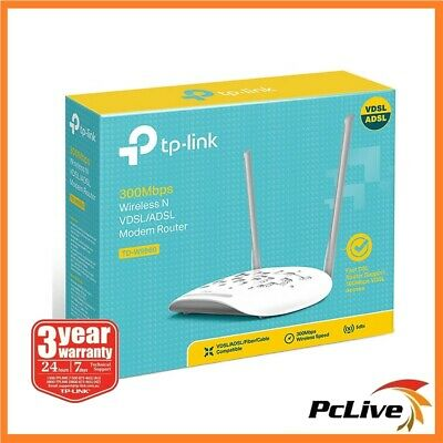 TP-Link TD-W9960 300Mbps Wireless N VDSL ADSL NBN Modem Router Parent Control