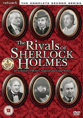 THE RIVALS OF SHERLOCK HOLMES COMPLETE SERIES 2 DVD 2nd Second Season Two UK Rel