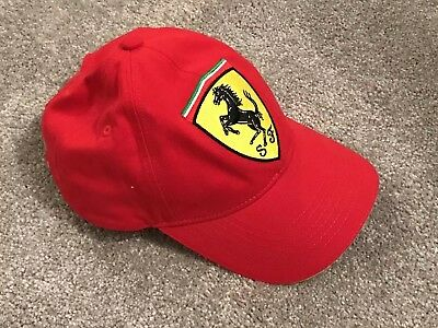 Ferrari Hat Official Product - RED