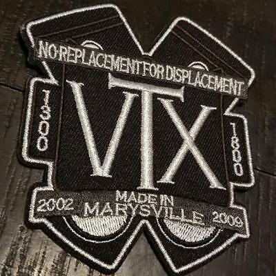 Honda VTX 1300 1800 Embroidered Iron On Patch