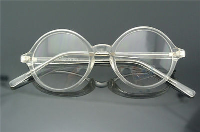 db20252430 43 45 47 50 52 54 58MM ROUND EYEGLASS frames Glasses Eyewear Vintage ...