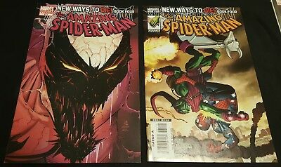 AMAZING SPIDER MAN # 571 and 571 VARIANT 3RD APP ANTI VENOM VF/NM OR BETTER 569