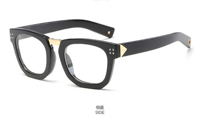 a36796596dd Vintage Retro Square Fashion Thick Eyeglass Frames Eyewear Glasses Women  Men RX