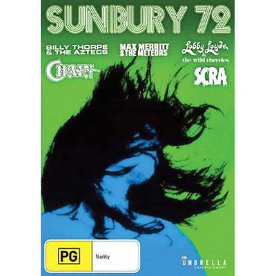 Sunbury 72 Rock Festival [DVD] Billy Thorpe, the Aztecs, Max Merrit [NEW/SEALED]