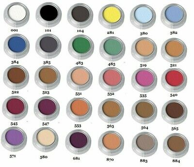 Grimas theatrical professional stage make up pearl rouge eyeshadow 2.5 grams