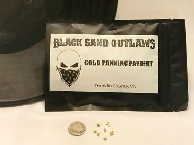 Black Sand Outlaws Nugget Rich Premium Paydirt Guaranteed Gold In Every Bag!