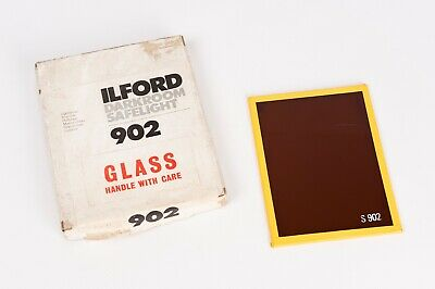 ILFORD DARKROOM SAFELIGHT  902 Light Brown 9x12cm