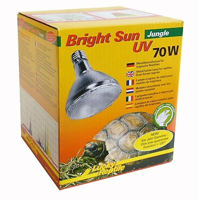 Bright Sun UV Jungle 70W UVA UVB Terrarien Lampe