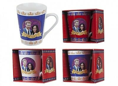 Royal Wedding V Shape Mug May 2018 Prince Harry Meghan Markle Souvenir Gift Cup