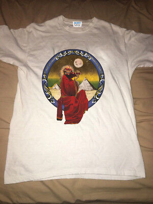 VTG grateful dead 1990 GDM Jerry Garcia Band t shirt gildan reprint