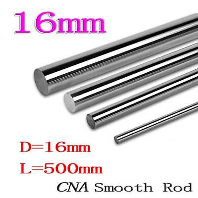 1pcs/lot 3D printer rod shaft WCS 16mm linear shaft L500mm chrome plated