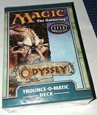 ENGLISH FACTORY SEALED NEW MAGIC ABUGames Odyssey Theme Deck Trounce-O-Matic