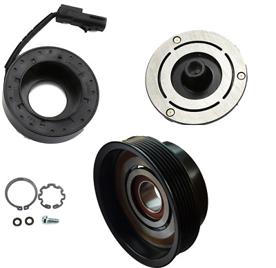 AC A//C Compressor Clutch Kit Assembly Pulley Coil For KIA Rondo 07-08 977011D200