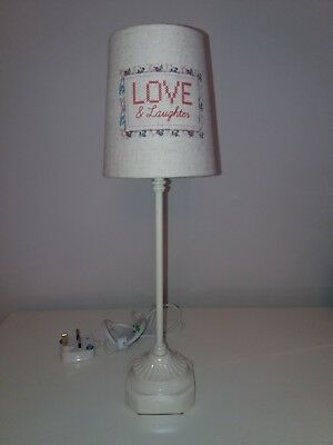 Used next table lamps 4000 picclick uk next shabby chic table lamp aloadofball Image collections