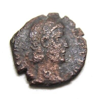 Coin of Later  Roman Empire, AE Follis.    0a101
