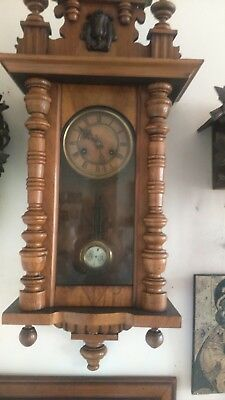Vintage Wooden Wall Clock.