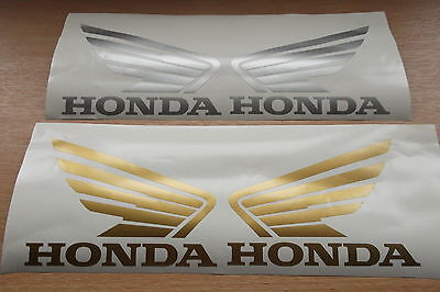 X2 HONDA Wings Sticker Decals Vinyl,motorcycle decals