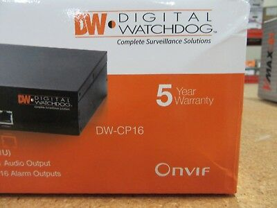 Digital Watchdog Dw-Cp16 Analog To Ip Video Encoder - Factory Sealed New