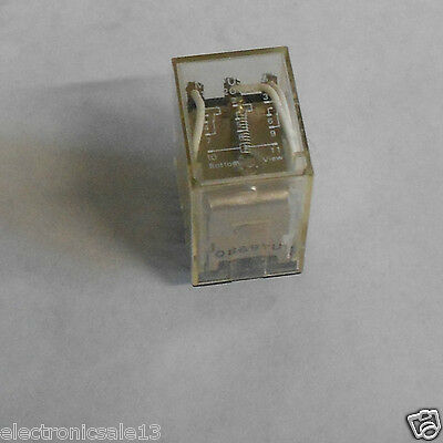 Used Omron Plug In Relay, My3-Us-Sv, 110/120V Ac, 11 Pins
