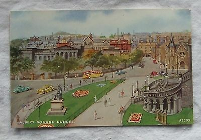 M&L 'National Series' POSTCARD - PRINCES STREET, EDINBURGH, LOOKING WEST