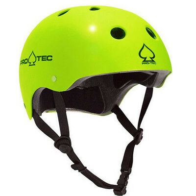 Protec Classic Roller Derby Skate Scooter Helmet - Gloss Citrus