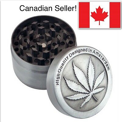 Grinder High Quality Tobacco Herb Zinc Alloy Grinder Designed In Amsterdam