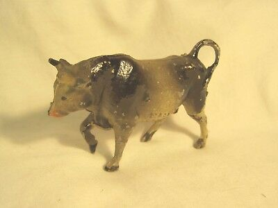 Vintage Metal Bull Cow Made in France