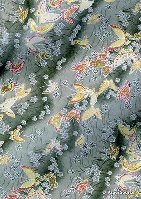 Japanese Yuzen Chiyogami Paper - Butterfly Design 04
