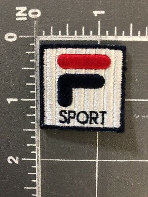 Fila Sport Sportswear Logo F Patch Red White Blue Clothing Apparel Fashion Italy