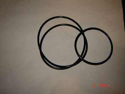 Cine projector 2 belts for ELMO K-100 SM   K-100SM Projector Belts,  New