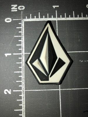 Volcom Stone Logo Patch Rubber Plastic Boardsports Costa Mesa CA True To This US