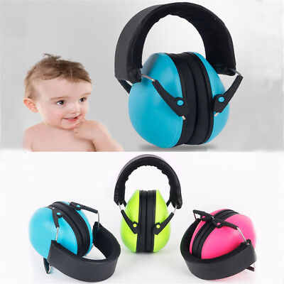 Earmuffs Hearing Protective Ear Muffs Comfortable Noise Reduction for Infant EL