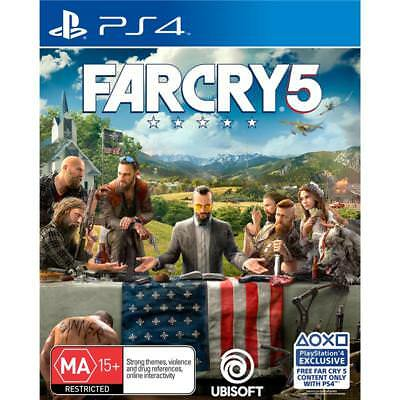 Far Cry 5 PlayStation 4 PS4 GAME BRAND NEW FREE POSTAGE