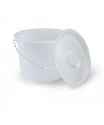 """Harvy Canes - Replacement Commode - Bucket & Lid - 11.5"""" x 9"""""""